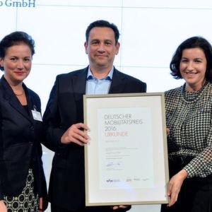 Moovel erhält Deutschen Mobilitätspreis