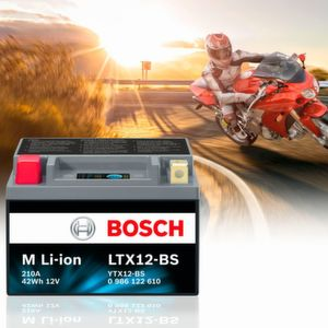 Bosch: Motorrad-Batterie gewinnt Innovation Award