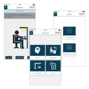 Die App für den ergonomischen Arbeitsplatz
