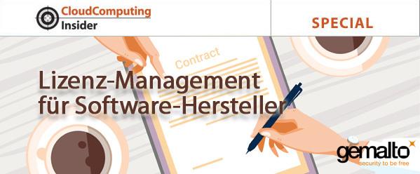 Lizenz-Management für Software-Hersteller