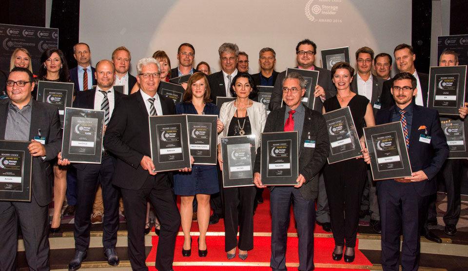 Das sind die glücklichen Gewinner der Storage-Insider Readers´Choice Awards 2016 in den Kategorien All-Flash-Array, Archivierung, Backup/DR, Enterprise Filesharing, Highend-Speichersysteme, NAS und Software-defined Storage.
