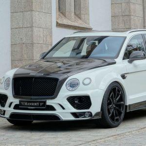Mansory rüstet den Bentley Bentayga auf