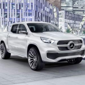 Mercedes startet mit Pick-up Ende 2017