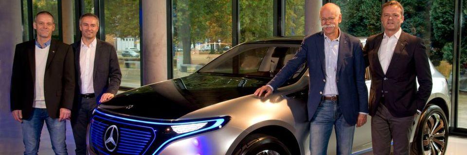 Daimler-Werk Bremen bekommt Zuschlag für erste EQ-Modelle