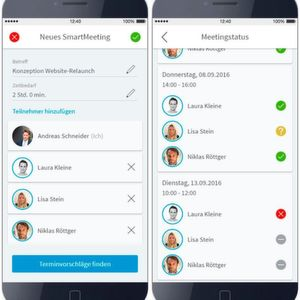 Collaboration-Lösung für effiziente Terminplanung