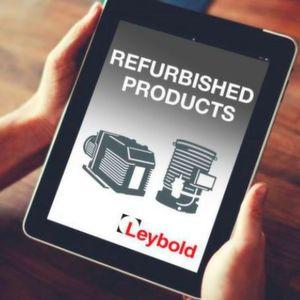 Leybold verbessert E-Shop