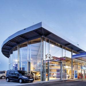 Autohaus Rauscher: Ein echtes Raumwunder