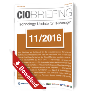 CIO Briefing 11/2016