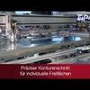 Schutzfolien automatisiert von Blechen entfernen