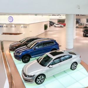 VW Pkw eröffnet Flagshipstore in Peking