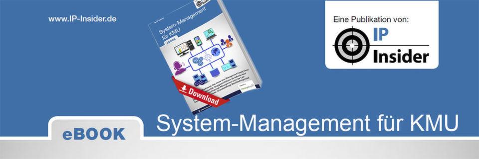 Unser eBook zeigt, was man im KMU-Umfeld über durchdachtes System-Management wissen muss.
