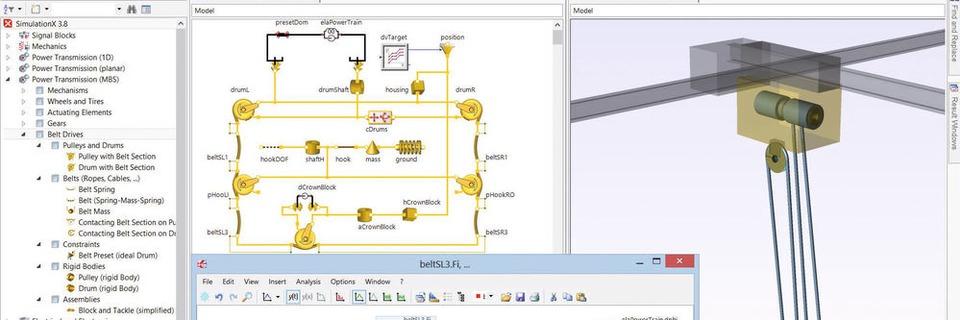 Mit Simulation X komplexe Entwicklungsaufgaben meistern