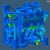 Prozesssimulationssoftware für additive Fertigung von Metallteilen