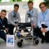 Intelligenter Rollator und autarke Energieversorgung überzeugen Jury