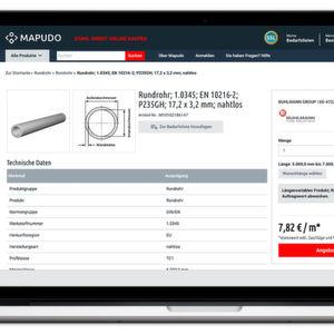 Stahl kaufen 4.0: Online-Vertrieb im Stahlhandel