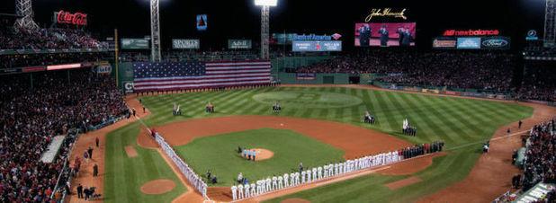Fenway Park, Stadion der Boston Red Sox: Eine IoT-Lösung erlaubt präzise Wettervorhersagen, damit Spielabsagen minimiert werden können.