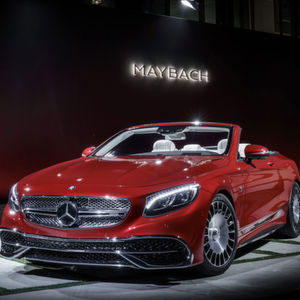 Maybach S 650 Cabriolet: Streng limitierter Luxus