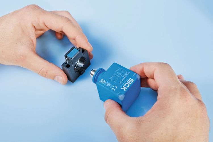 Die Näherungssensoren IQG überzeugen durch Kompaktheit sowie die schnelle Montage.