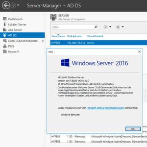 Active-Directory-Migration auf Windows Server 2016