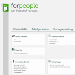 Forcont ergänzt Personalmanager forpeople