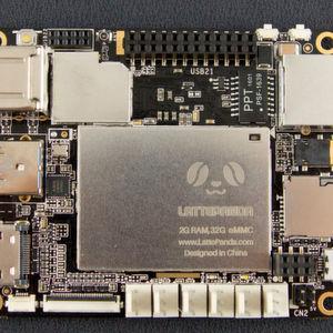 LattePanda-Board mit Windows 10 und Arduino-Kompatibilität