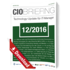 CIO Briefing 12/2016