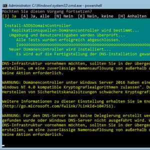 Active Directory erweitern und hochverfügbar betreiben