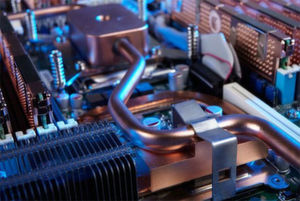 """Das Unternehmen Megware hat mit """"Coldcon"""" ein Heißwasser-Direktkühlsystem entwickelt."""