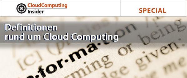 Special: Definitionen rund um Cloud Computing | Bild: © aga7ta - Fotolia.com
