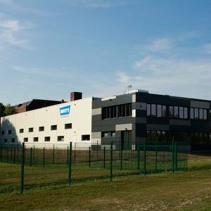 Witt nimmt neue Fertigungshalle in Betrieb