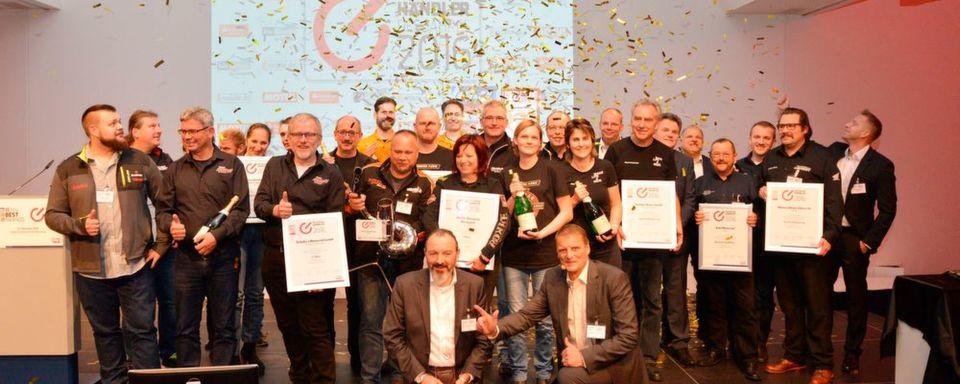 Motorradhändler des Jahres 2016: Herzflimmern bei den Siegerteams