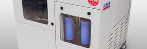 Hochdruckpumpe zum Wasserstrahlschneiden vereint Effizienz und geringen Platzverbrauch
