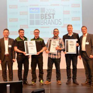 Best Brands 2016: Das Lächeln der Sieger