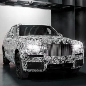 Rolls-Royce: Das SUV, das keins sein will, nimmt Form an