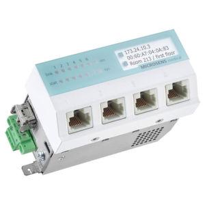 Der Medical Switch gewährleistet Sicherheit in Datennetzen
