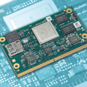 Bild 1: Das SMARC 2.0-Modul MSC SM2S-IMX6 von MSC Technologies basiert auf dem System-on-Chip i.MX6 von NXP