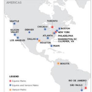 Equinix übernimmt 24 Datacenter-Standorte von Verizon