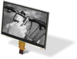 Memory-in-Pixel-Technik: Kein Problem bei direktem Sonnenlicht und die Hinterleuchtung ist nur dann notwendig, wenn es dunkel ist.