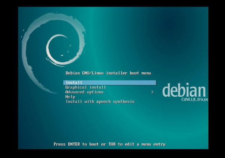 Nach dem Bootvorgang startet der Einrichtungs-Assistent von Debian/Scrollout F1. Nachdem die Installation gestartet ist, werden Spracheinstellungen,