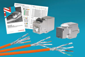 Nouveaux modules Keystone catégorie 6A « MS-C6A » et « KS-T Plus » pour les câblages de communication universels.
