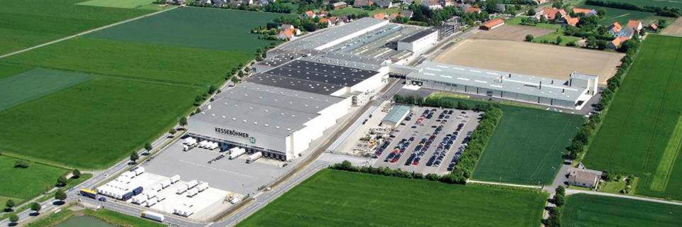 Die Kesseböhmer-Firmenzentrale in Bad Essen.