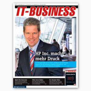 Exklusiv & vorab: die IT-BUSINESS 25/2016
