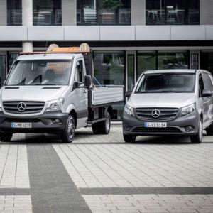 Mercedes Vans mit neuen Rekorden