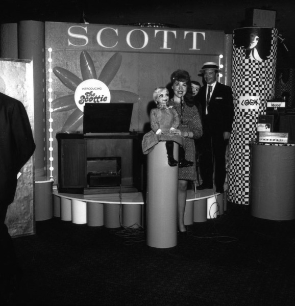 """Die Firma """"Scott"""" war gleich auf der ersten CES 1967 in New York City dabei."""