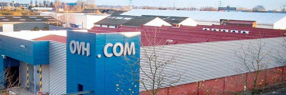 Eine bei OVH beliebte Herangehensweise ist die Nutzung ehemailiger Industriegebäude für Rechenzentren. Hier ein OVH-RZ in Roubaix.