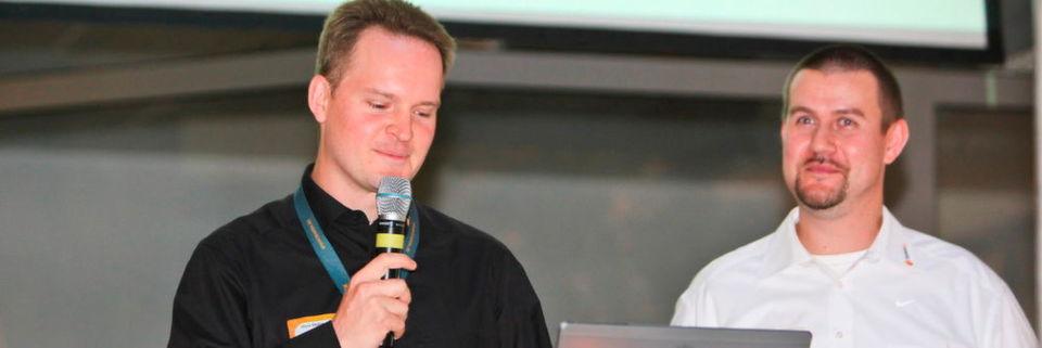 Die Teamix-Geschäftsführer Oliver Kügow (l.) und Richard Müller übernehmen künftig Führungsrollen in der Proact-Gruppe.