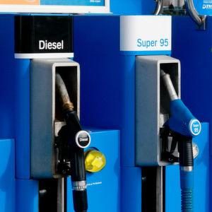 Dieselabsatz übersteigt erstmals Benzinverkauf