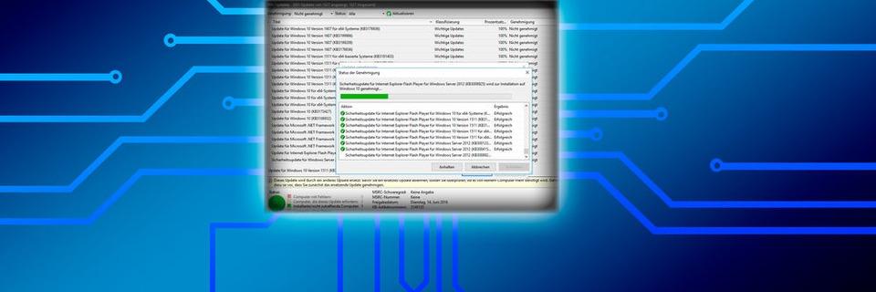 Zentrale Update-Verwaltung für Windows 10 mit WSUS