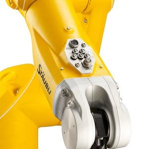 Le robot doit être intimement connecté à la production