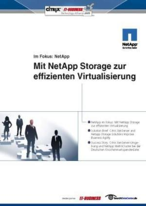 Mit NetApp Storage zur effizienten Virtualisierung